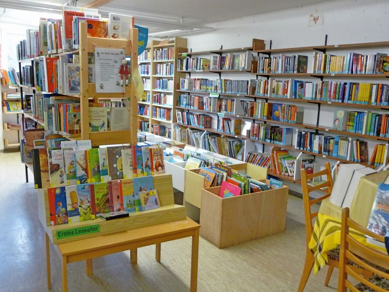 Bücherei bilder  Gemeinde Lonsee   Bücherei  